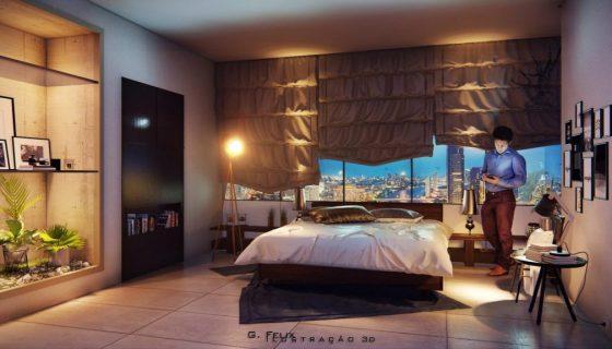 cadacademy_lumion_bedroom
