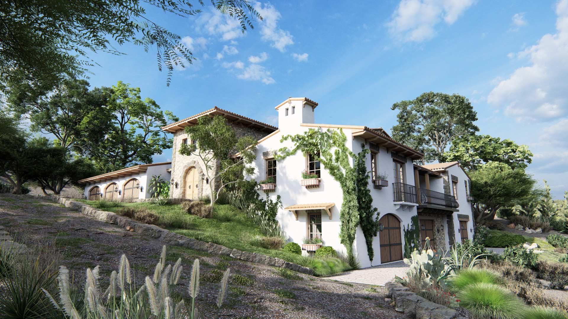 Italian-style-villa-1920x1080_Lumion10_TenOverStudio