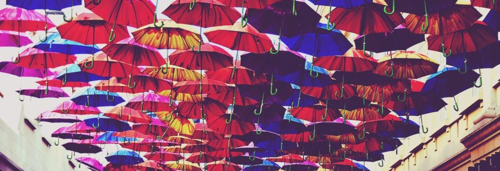 red-blue-and-orange-umbrella-lot-918781