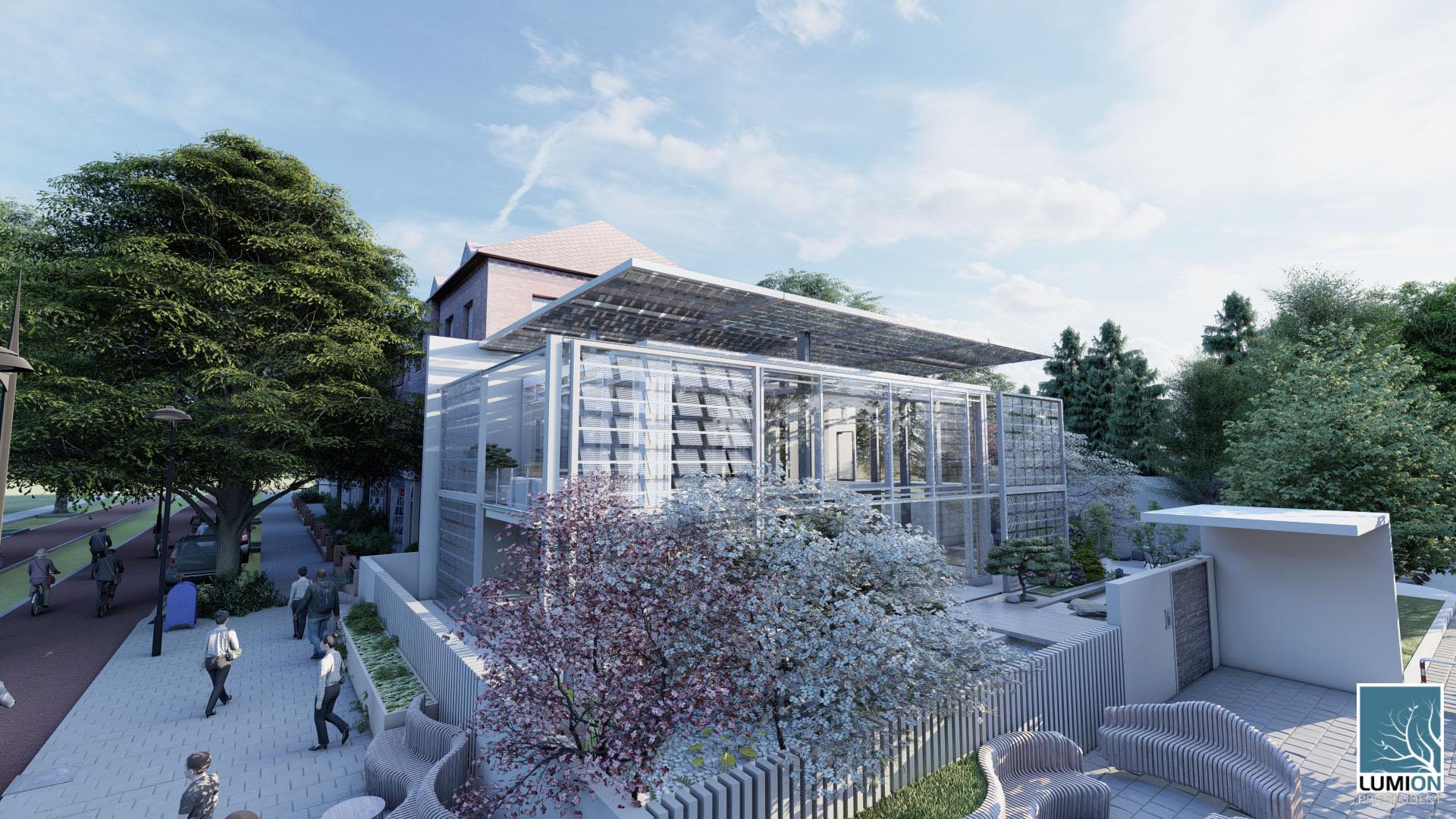 RENDER 2 Schiebehaus Studente Lorenzo Fortunato classe 3G architettura prof. Anzalone