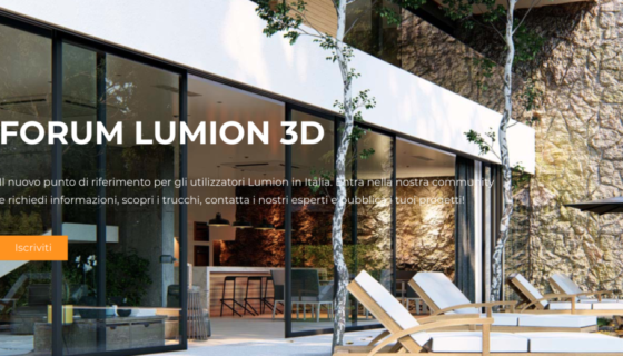 forum lumion 3d italia