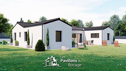"""""""Les Pavillons du Bocage, costruttore di case singole da più di 25 anni, produce case tradizionali e contemporanee su misura secondo la tua personalità e fornisce supporto locale nel tuo progetto di costruzione a Deux-Sèvres a Bressuire (79) e in Vandea a La Roche-sur-Yon (85). """""""